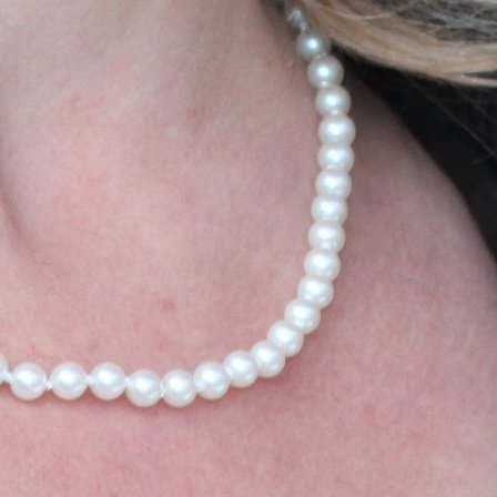 6mm Fresh Water Pearl Strand